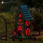 Dragonfly Fairy House Luminary