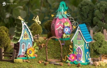 Fairyville Fairy House Luminaries