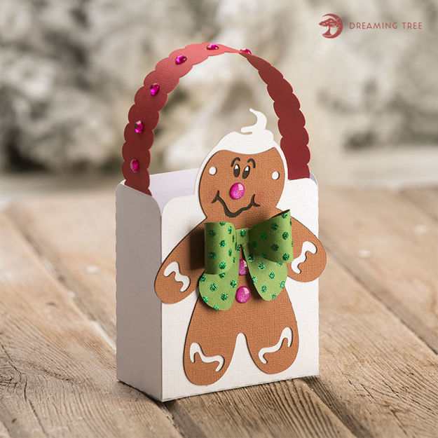 Gingerbread Man Treat Bag