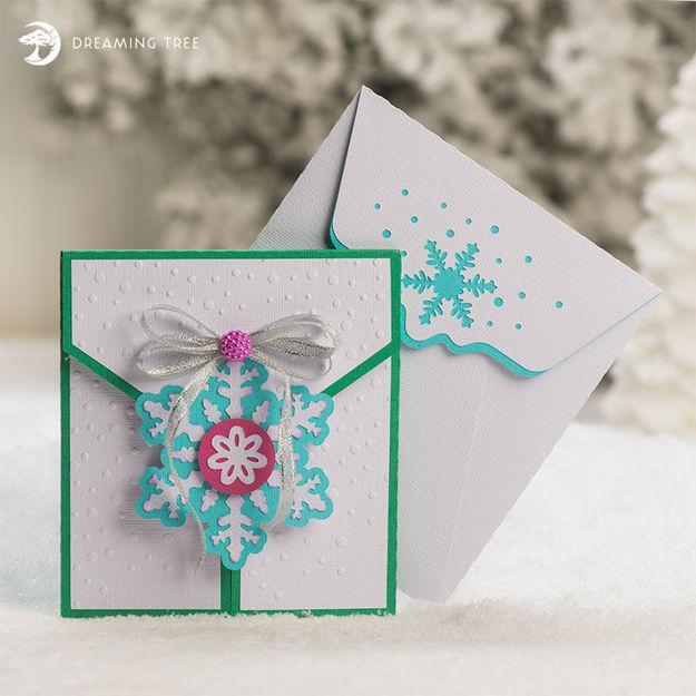Christmas Card Photo Holder SVG