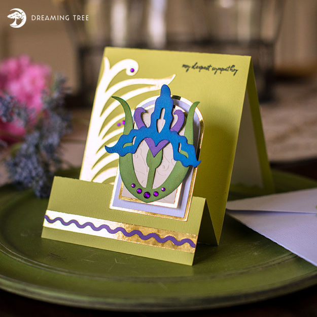 Picture of Iris Card SVG