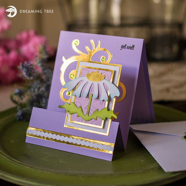 Picture of Daisy Card SVG