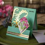 Carnation Sentiment Greeting Card