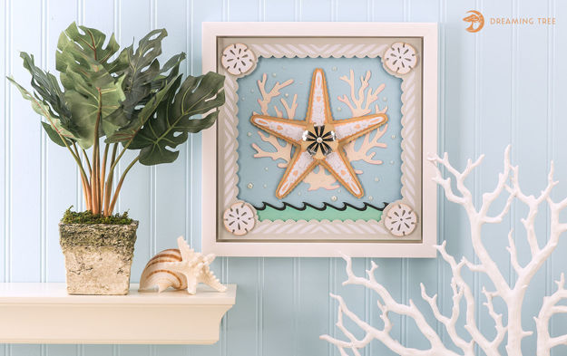Picture of Starfish Paper Sculpture SVG