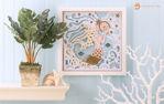 Mermaid Paper Sculpture