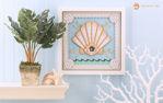 Seashell Paper Sculpture