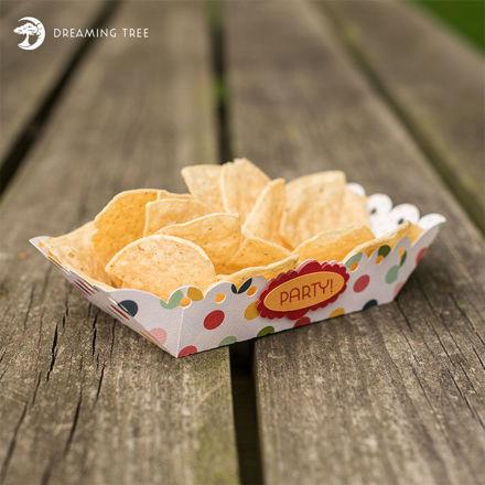 Snack Tray (Free SVG)