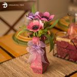 Anemone Flower With Vase SVG