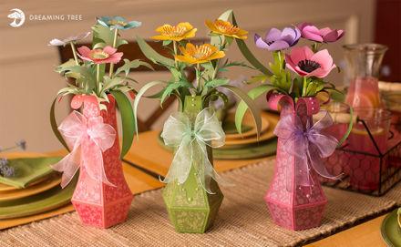 ABC Flowers SVG Bundle