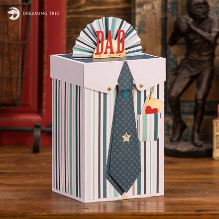 Picture of Father's Day Gift Box SVG