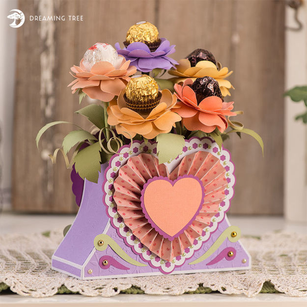 Picture of Mother's Day Bon Bon Bouquet SVG