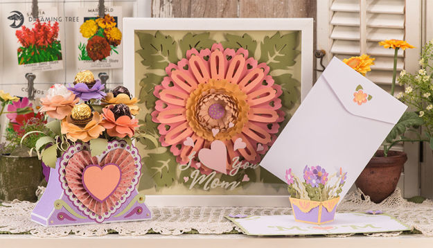 Picture of Flowers For Mom SVG Bundle