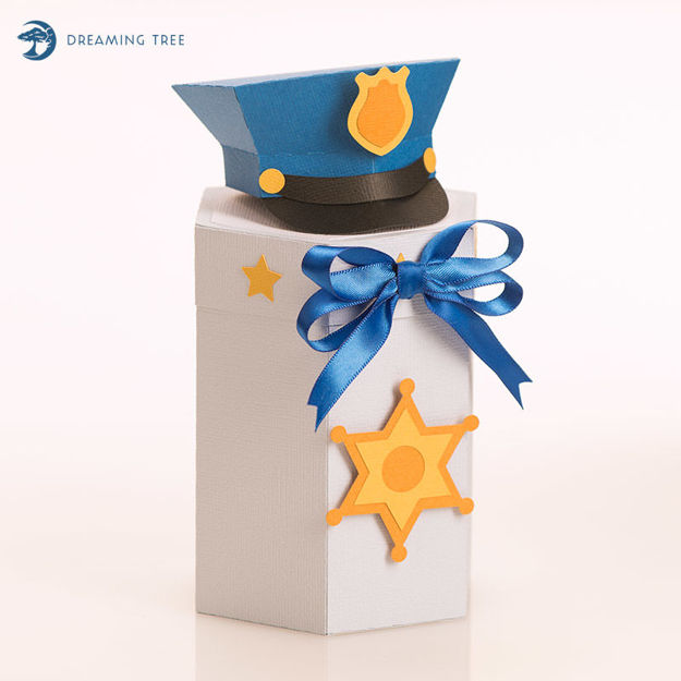 Picture of Police Gift Box SVG