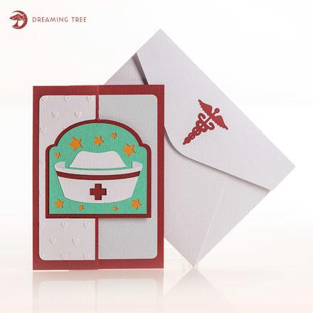 Picture of Nurse Flip Card SVG