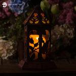 Apple Blossom Lantern SVG