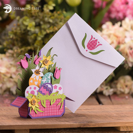 Picture of Easter Box Card SVG