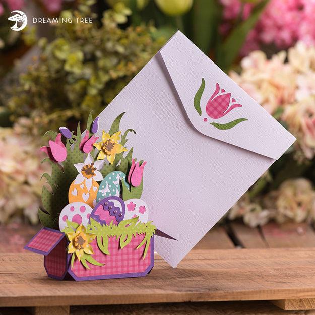 Easter Egg Box Card