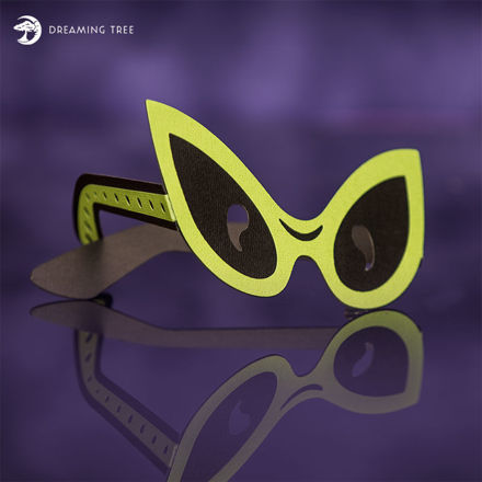 Alien Glasses (Free SVG)