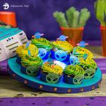 Flying Saucer Cupcake Holder