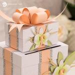 Orchid Wedding Gift Card Box