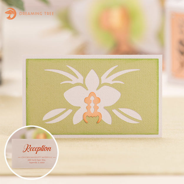Picture of Orchid Information Card SVG