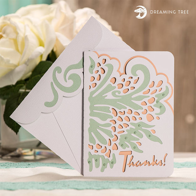 Picture of Thank You Card SVG