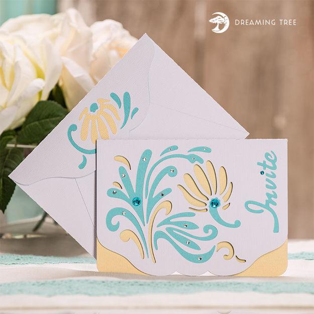 Invitation Card SVG