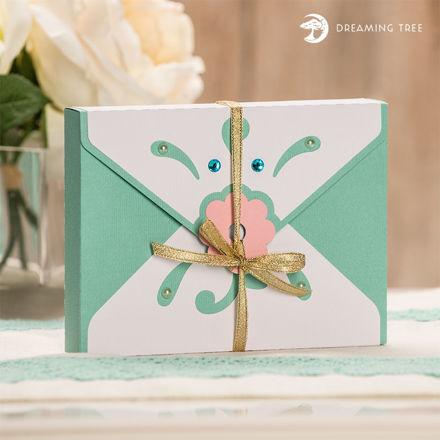 Greeting Box Envelope SVG