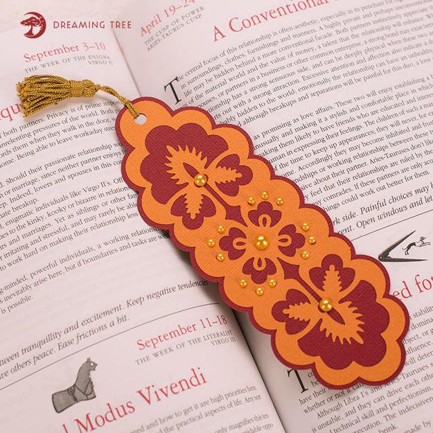 Nouveau Bookmark (Free SVG)