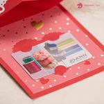 Valentine Twist Pop Card