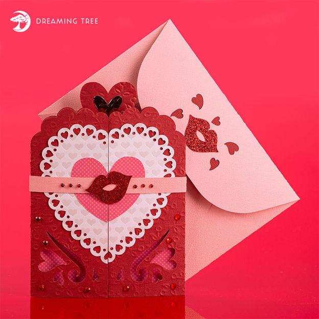 Picture of Valentine Gatefold Card SVG