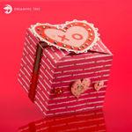 Valentine's Dar Heart Gift Box