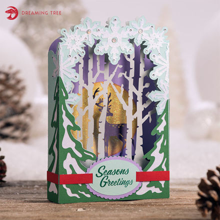 Picture of Winterscape Card SVG