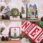 Charming Christmas Cards SVG Bundle