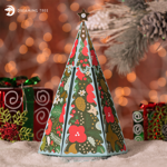 Picture of Christmas Explosion Box SVG