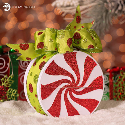 Picture of Peppermint Gift Box SVG
