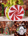 Merry and Bright Gift Boxes SVG Bundle