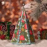 Christmas Tree Explosion Box