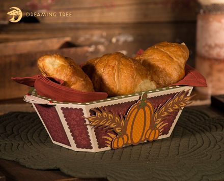 Picture of Thanksgiving Bread Basket SVG