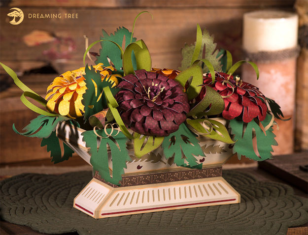 Picture of Zinnia Compote SVG