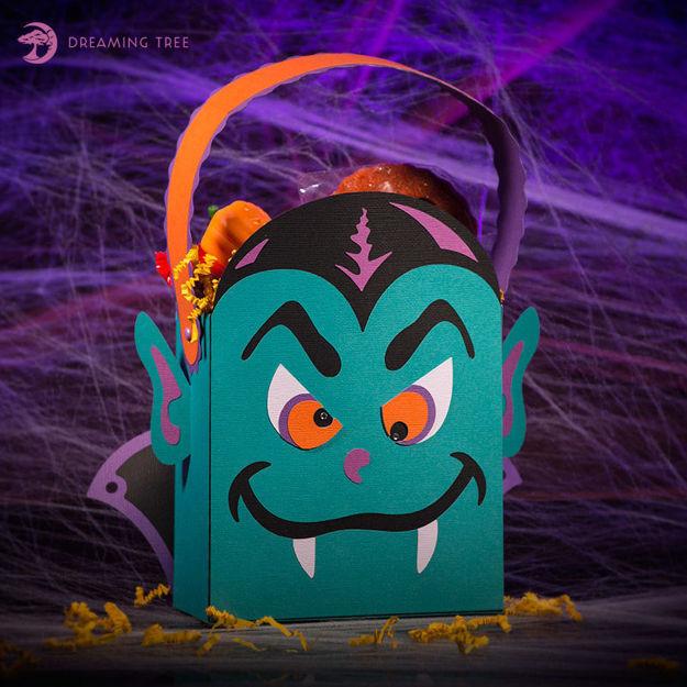 Count Dracula Halloween Treat Bag