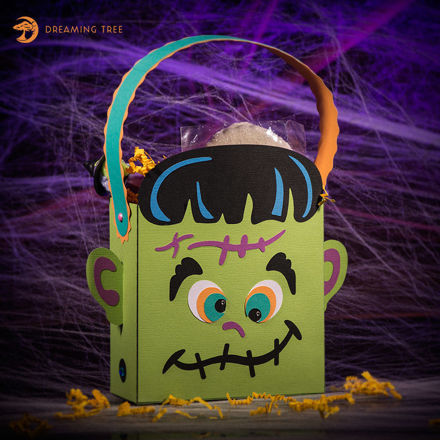 Halloween Frankenstein Gift Treat Bag