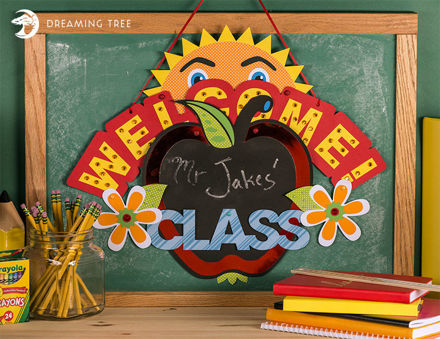 Picture of Back To School Banner SVG