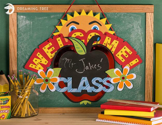 Back To School Banner SVG