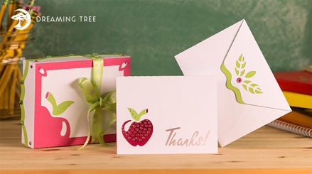 Picture of Thank You Card and Box SVG