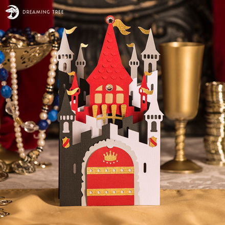 Picture of King of Castle Card SVG