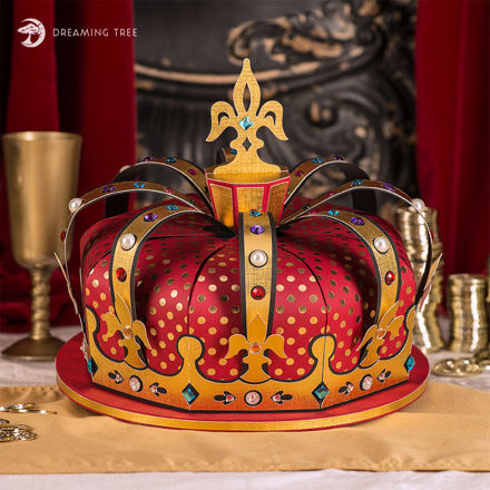 Picture of Crown Cupcake Holder SVG