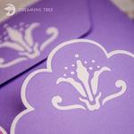 Picture of Flora Gatefold Card SVG