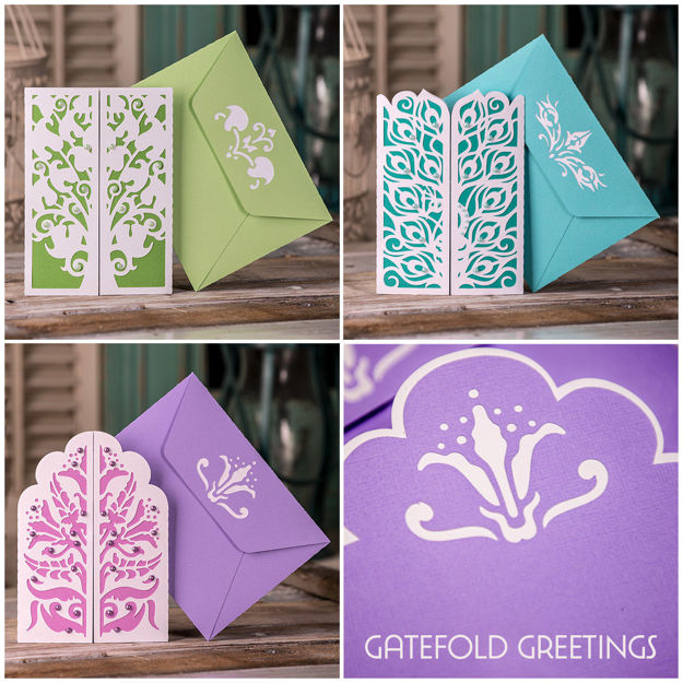 Picture of Gatefold Greetings SVG Bundle