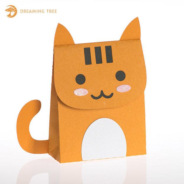 """Picture of """"Pumpkin"""" Favor Bag (Free SVG)"""